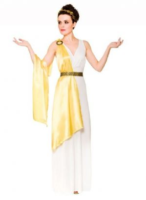 Greek Goddess Lady Plus Size Costume (EF2235)